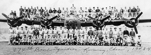 374th Bomb Squadron - Kunming, China, 1943-4