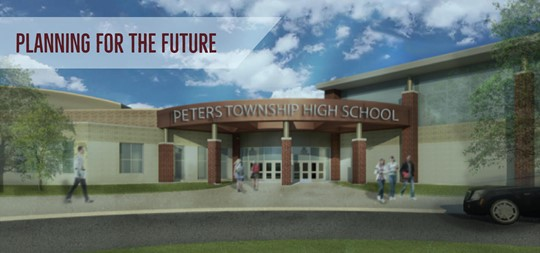 """When our new Peters Township High School opens its doors will there be """"2020 hindsight"""" on why solar energy wasn't added to the plan?"""