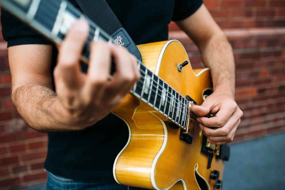 Guitar Tutor Brisbane Andrea Vocaturo