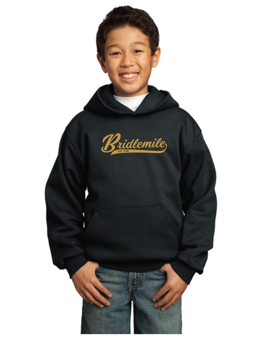 Bridlemile 60th Anniversary Designs_60th Pullover Hoodie Youth.png