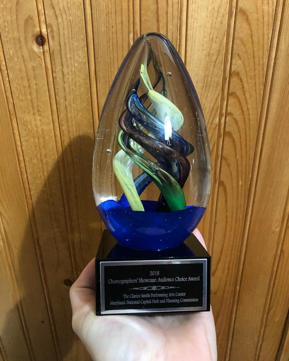 - We are so humbled to have received the 2018 Choreographers' Showcase Audience Choice Award at the 35th Annual Choreographers' Showcase.THANK YOU from the bottom of our hearts!!!