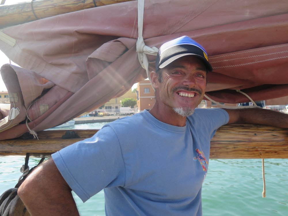 Juan Manuel Ballestero - Skipper of the ToftevaagJuan was a solo sailor and extreme fisherman (Alaska and the Southern Ocean), he is now skipper and underwater cameraman on board the Toftevaag. He is also a part-time Pirate in our summer education program.juan@alnitak.org