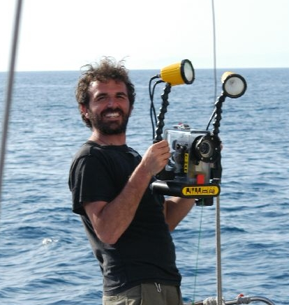 Lorenzo Bramanti - Marine Biologist and ResearcherIn 2004, Lorenzo earned a PhD in Marine Ecology at the University of Pisa. His thesis was on the conservation and population dynamics of Mediterranean Red coral (Corallium rubrum). He continued his post-doctoral research in the Mediterranean, as well as tropical areas, including Taiwan, U.S. Virgin Islands, French Polynesia and Djibouti. In 2005, he started as a Senior Scientist for the CNRS Ocean Observatory of Banyuls-sur-mer. Since 2011, he's been working with Alnitak on-board the Toftevaag, and for our MPA program in Djibouti. He focuses on developing population models and forecasts, mainly for coral, helping with the managment and design of marine protected areas and collaborating with the French Marine Protected Areas Agency.