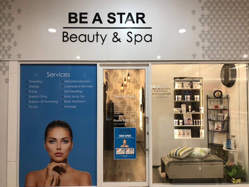 Be a star, Beauty and Spa at Riverwood Plaza Shopping Centre