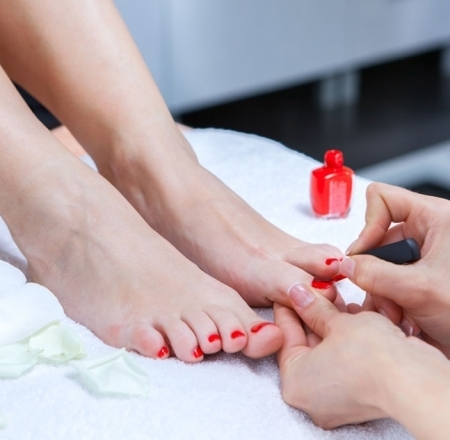 donnalyn nails & beauty - PEDICURE $25MANICURE & PEDICURE $38