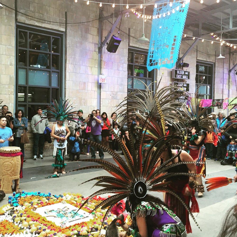 Aztec Dance Ceremony