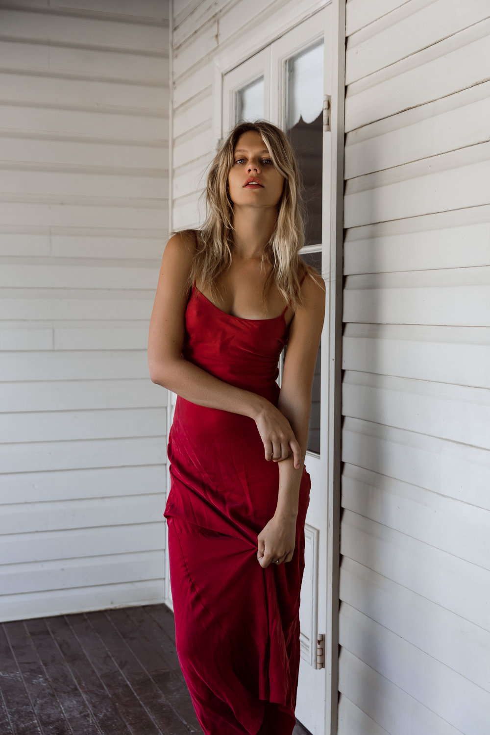 Wearing my favourite dress of all time by Tigerlily, shot in the stunning  Bangalow Guesthouse