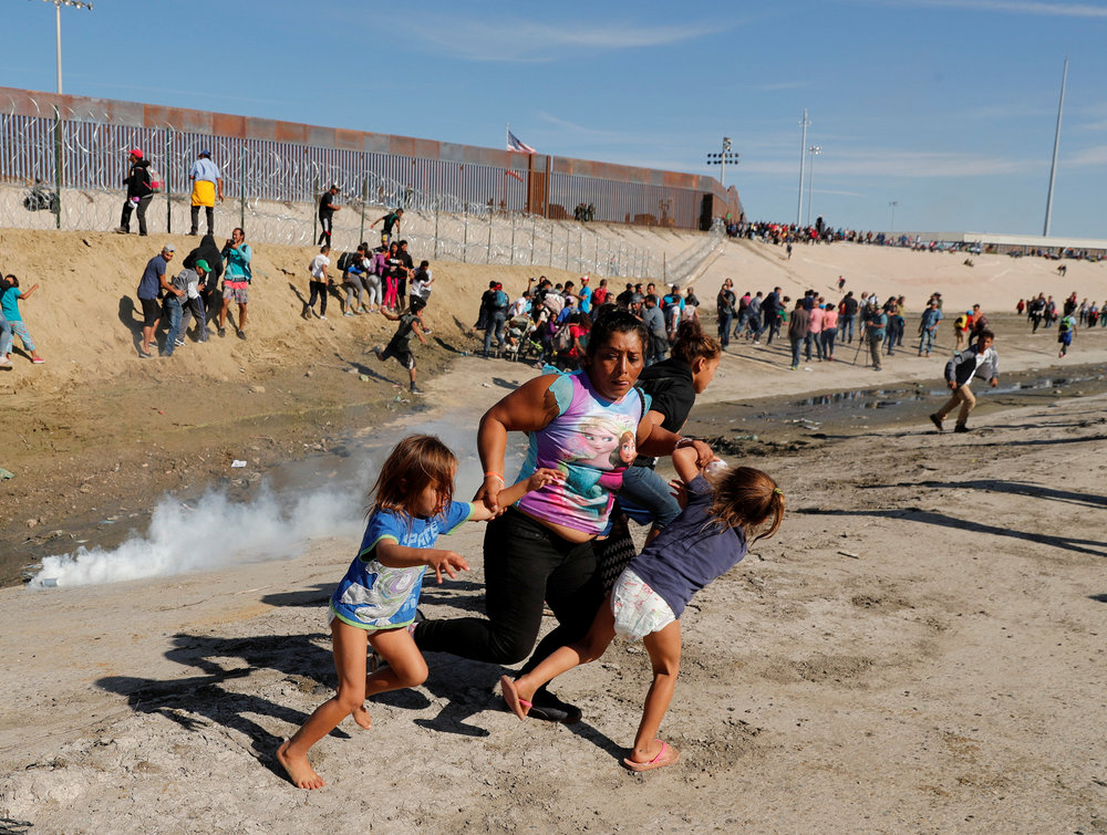 US-Mexican border, 2018