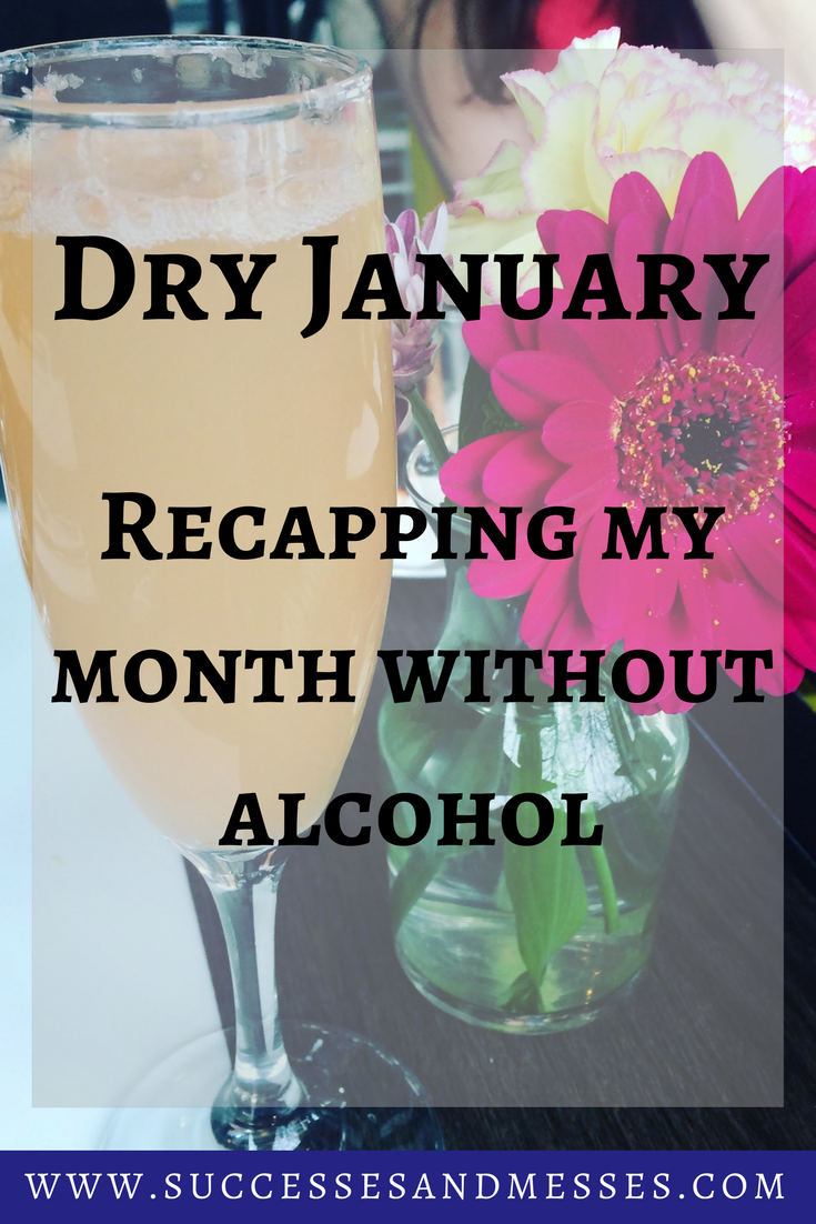Dry January - Recapping my month without alcohol