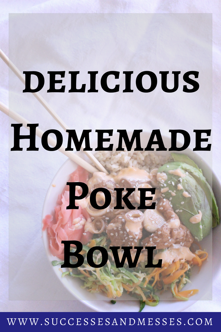 Homemade Poke Bowl