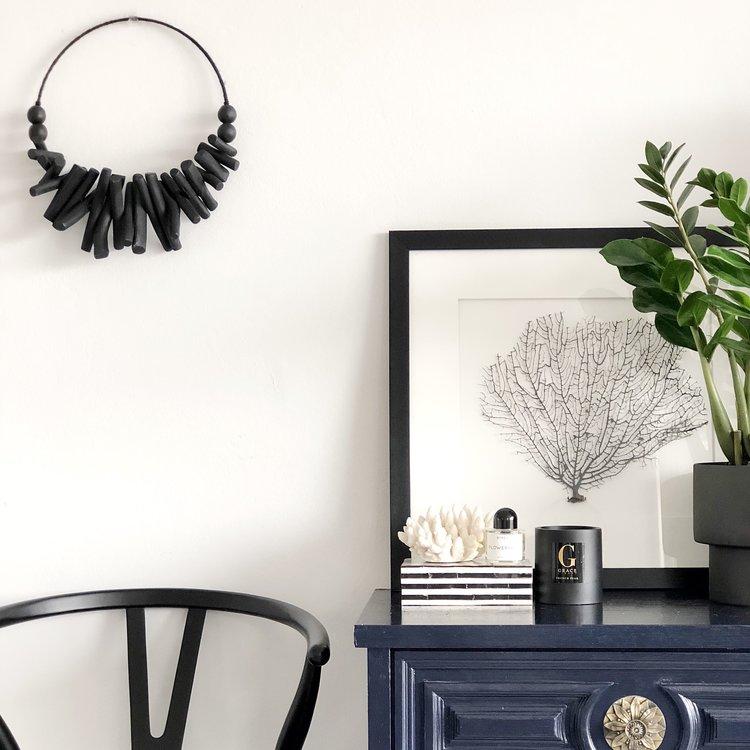 Black Driftwood Wall Hanging — Harper + Wilde