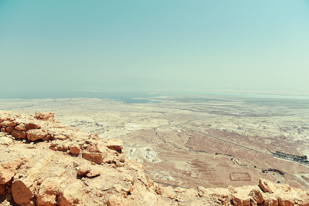 View of the Dead Sea from the Unesco site, Masala.Guild Magazine - Copyright 2018
