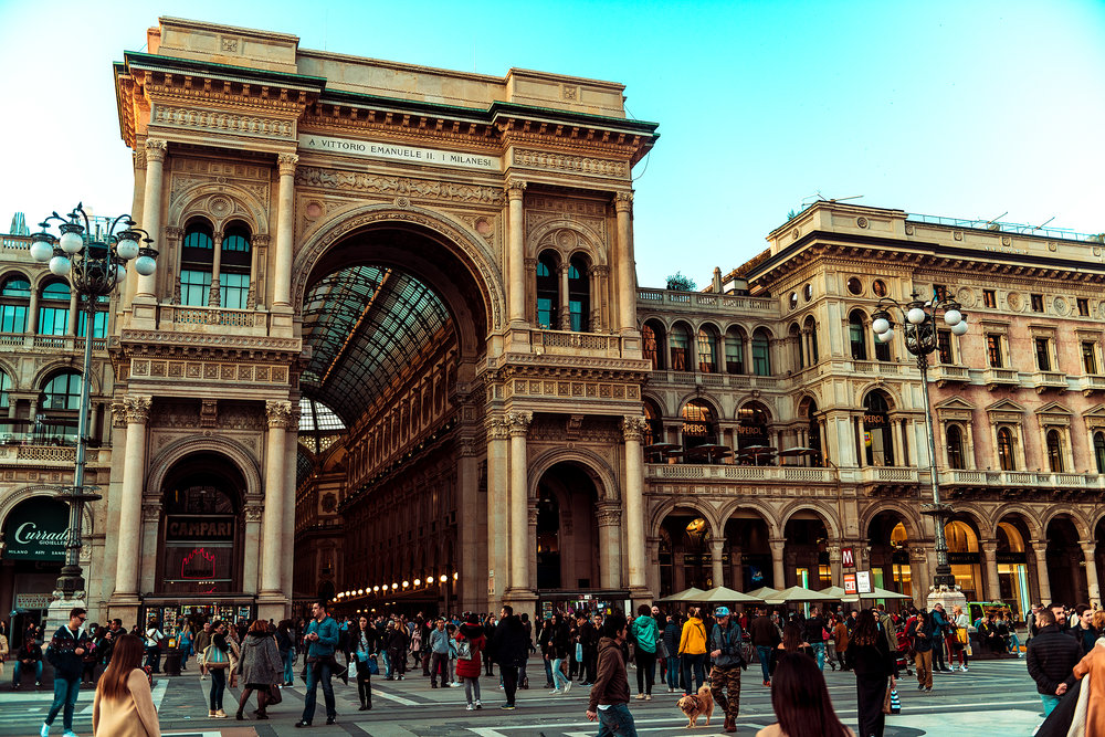 © Guild Magazine - 2018. Galleria Vittorio Emanuele II is the oldest, active shopping center in Italy.