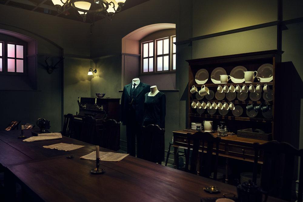 The servants hall. © Guild Magazine - 2018.