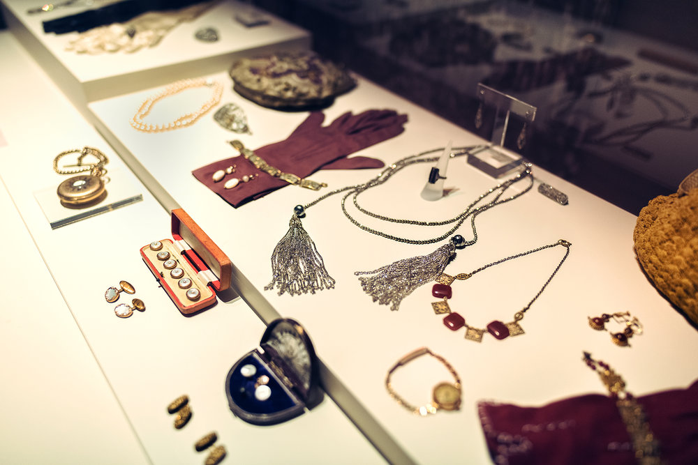 Some of the many accessories on display at the exhibition. © Guild Magazine - 2018.