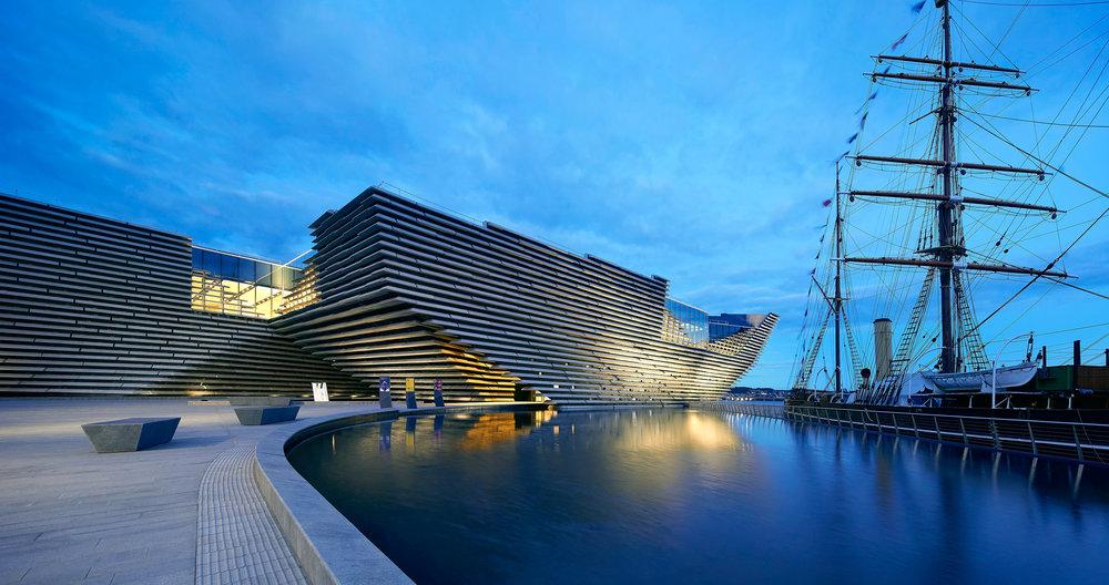 V&A Dundee Museum of Design, Scotland. © Hufton Crow.