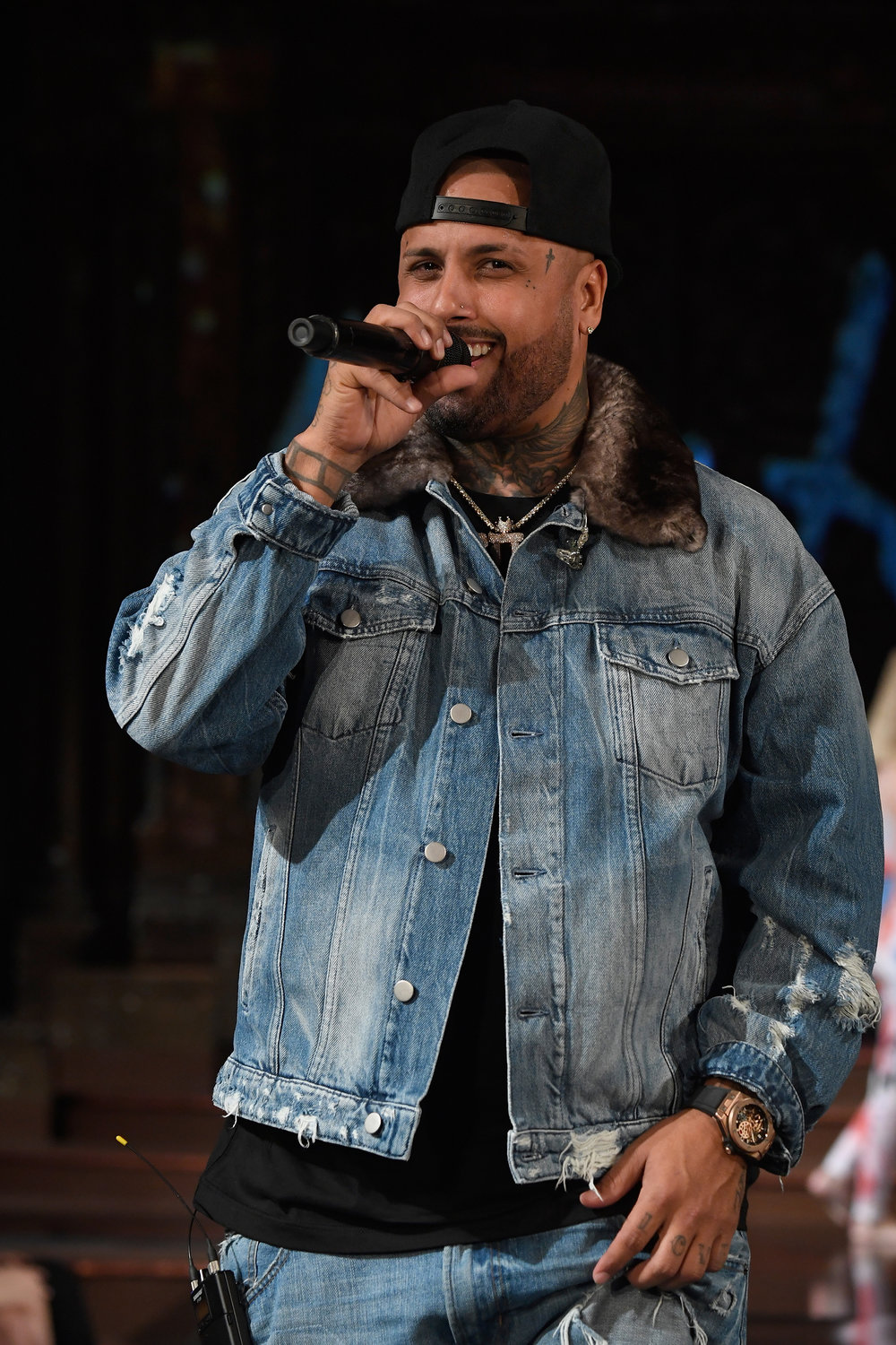 Nicky Jam performs at NYFW Powered By Art Hearts Fashion on September 6, 2018 in New York City. © Arun Nevader/Getty Images