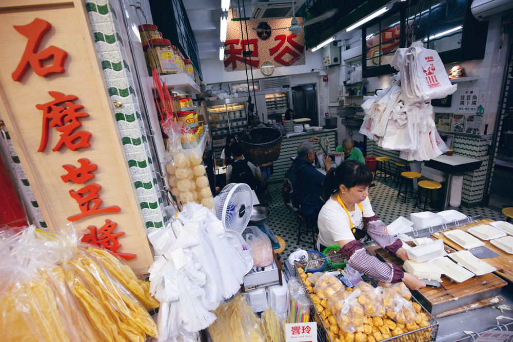 The markets offer a wide array of places to taste the local cuisine. @ Alex Rodriguez for Hong Kong Tourism Board (HKTB).