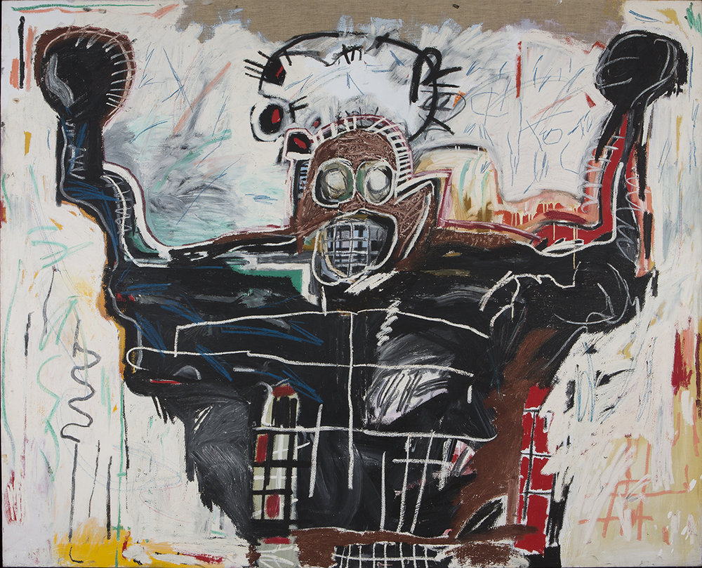 JEAN-MICHEL BASQUIAT - UNTITLED BOXER