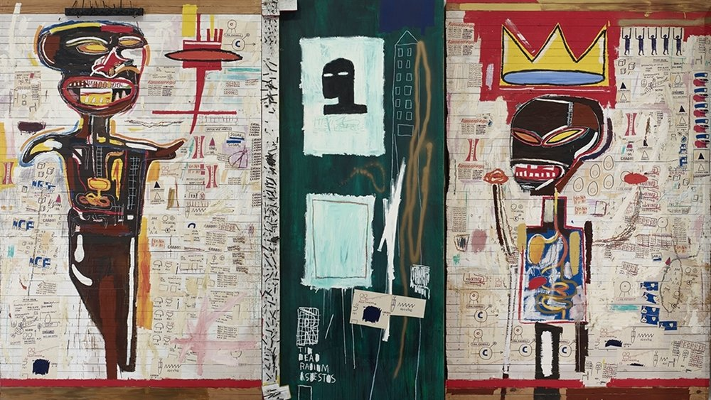 JEAN-MICHEL BASQUIAT - GRILLO