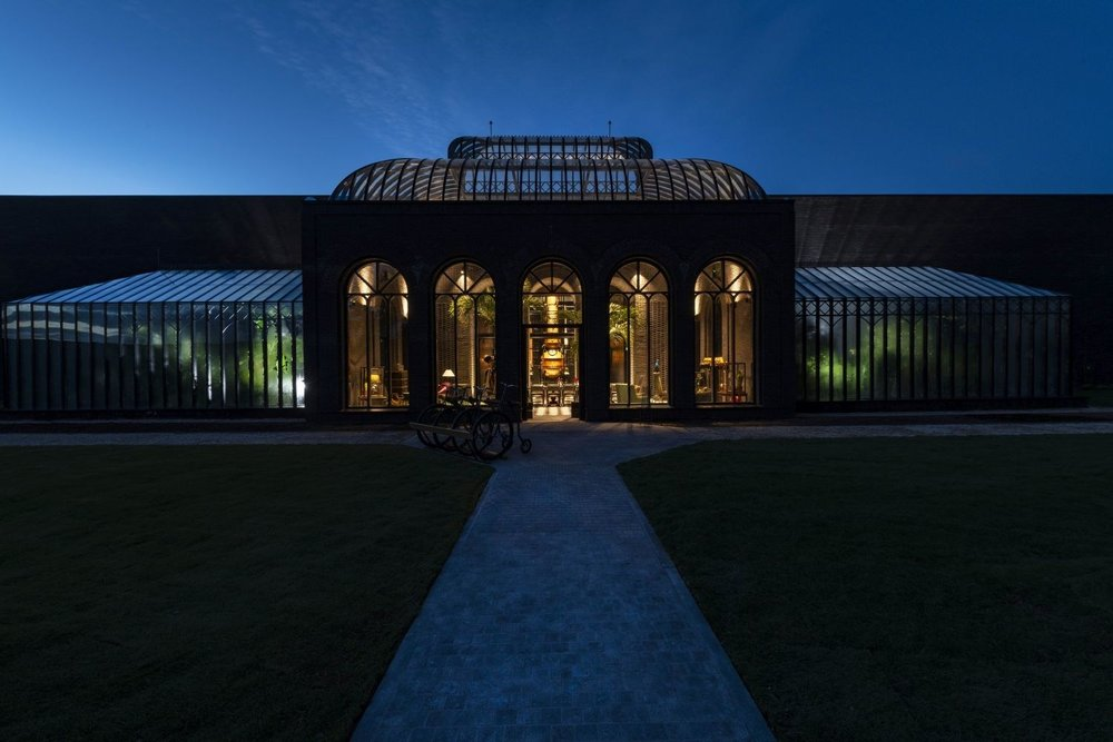 The Victorian inspired palm house, and botanical hot houses. Photo courtesy of William Grant & Sons.