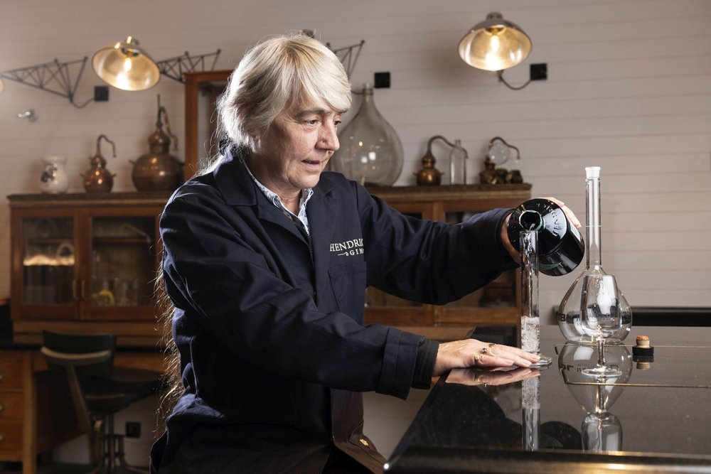 Lesley Gracie- Master Distiller, Hendrick's. Photo courtesy of William Grant & Sons.