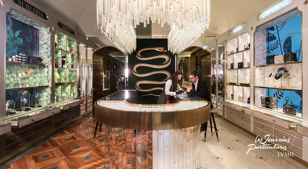 New Curiosity Shop Bulgari, Rome © Gabriel De La Chapelle / LVMH