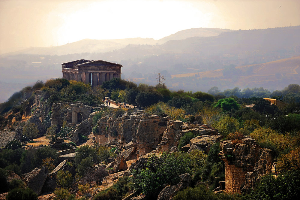 Ruins of the Valley of the Temples in Agrigento. Images courtesy of Rocco Forte Hotels.