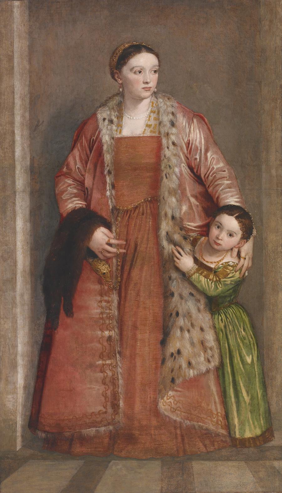Baltimore, Walters Art Paolo Veronese, Countess Livia da Porto Thiene.
