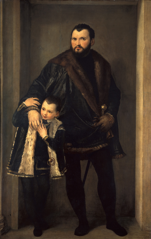 Florence, Uffizi, Paolo Veronese, Count Iseppo da Porto.