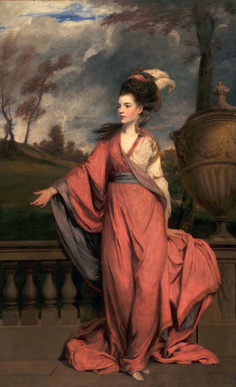 San Marino, Hunthington Art Collections, Sir Joshua Reynolds, Jane Fleming, later Countess of Harrington.