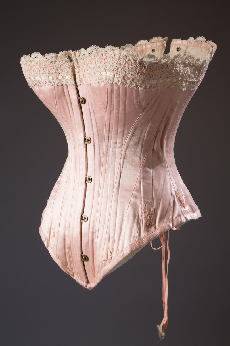 Corset, 1880s, USA, Museum Purchase.
