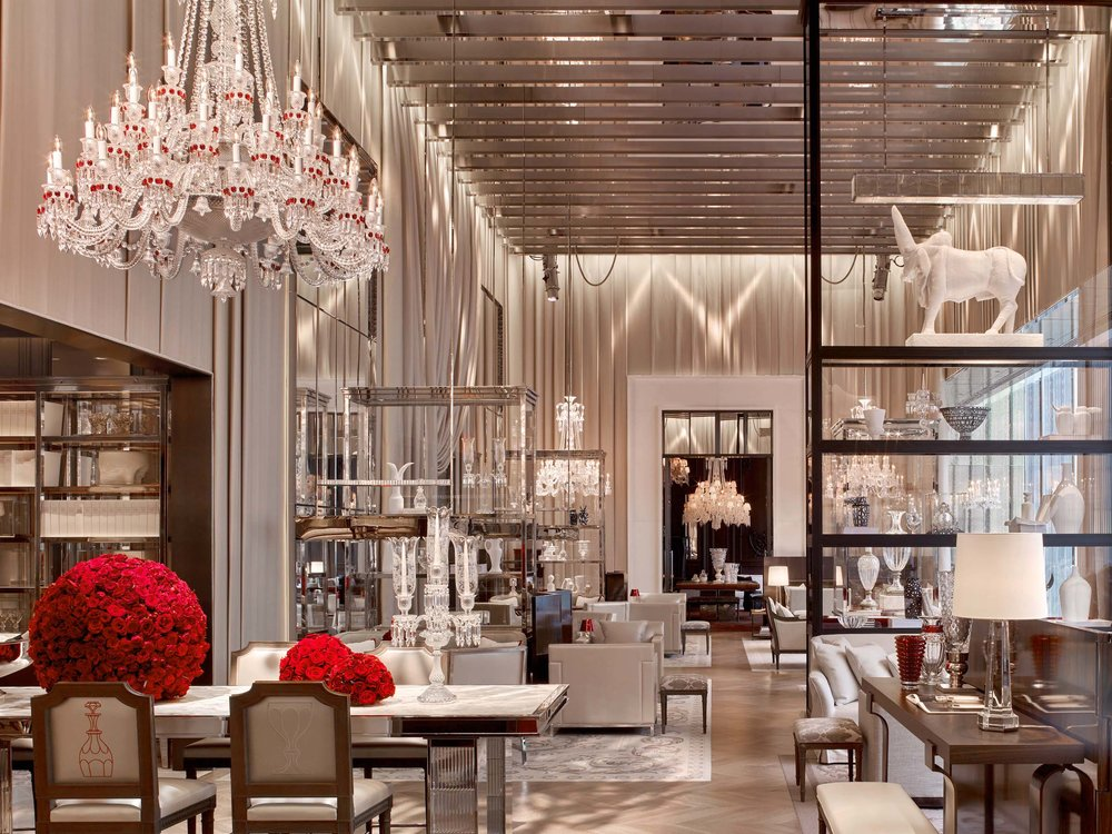 The Baccarat Hotel.