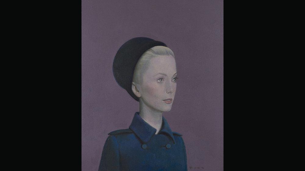 Catherine Deneuve, 2012 Acrylic on canvas 60x45 cm Private Collection, Beijing. Photo: Cao Yong (曹勇).