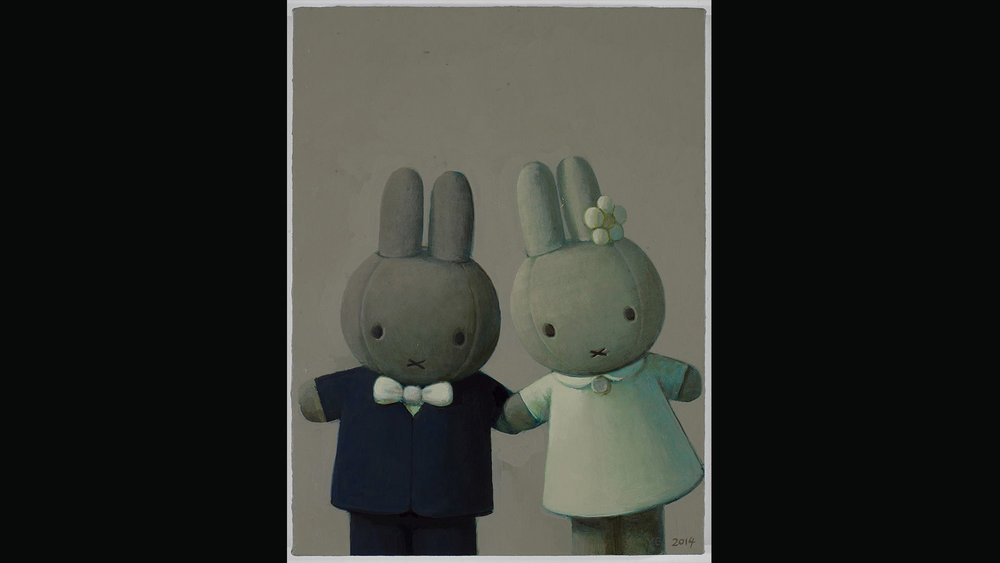 Miffy Getting Married, 2014. Private collection, Berlin.