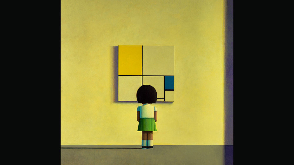 Mondrian in the Morning, 2000. Private Collection, Beijing.