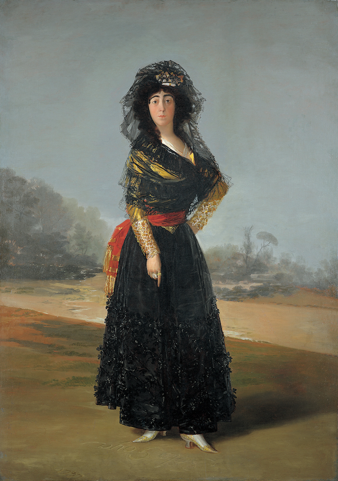 Duchess of Alba - Goya