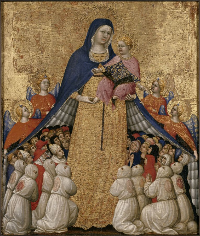 Pietro di Domenico da Montepulciano. Vierge de Miséricorde © L'œil et la mémoire Fabrice Lepeltier