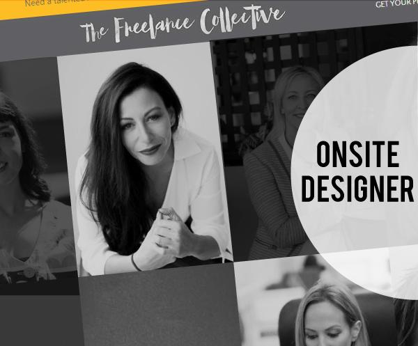 Onsite Graphic Designer Heather James