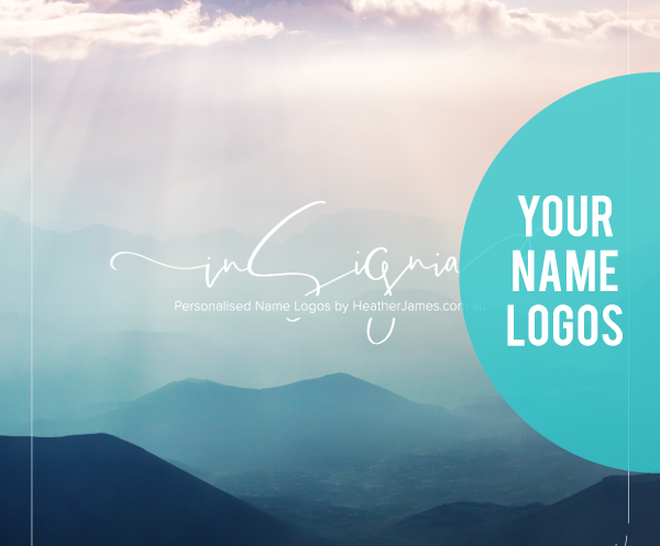 Personalised Name Logos From $199.00AUD