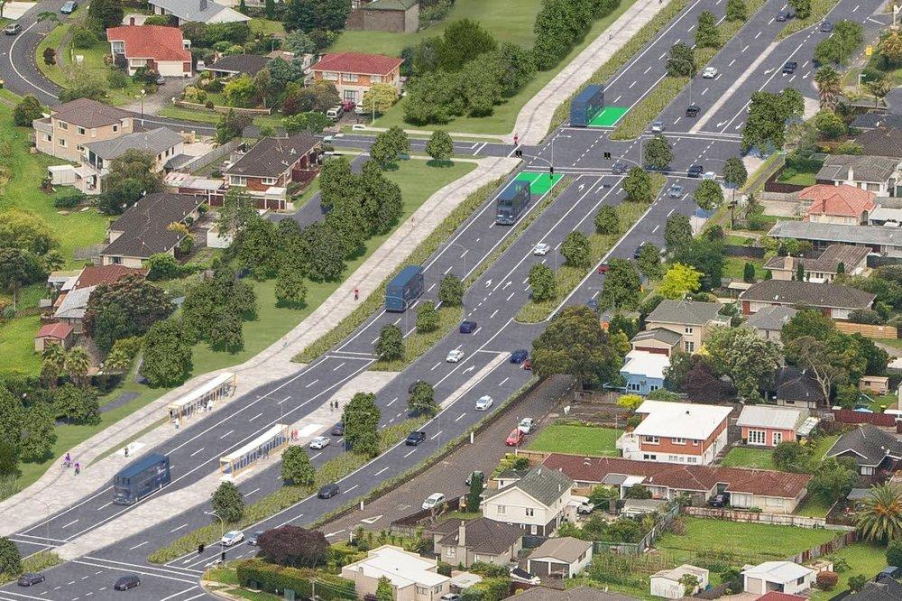 AMETI Busway - NZ