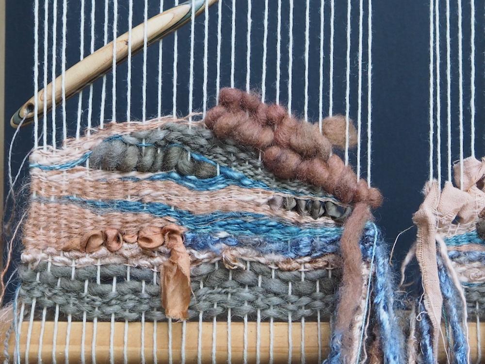 Ellie Beck Petalplum Weaving %22Jupiter%22 in progress.JPG