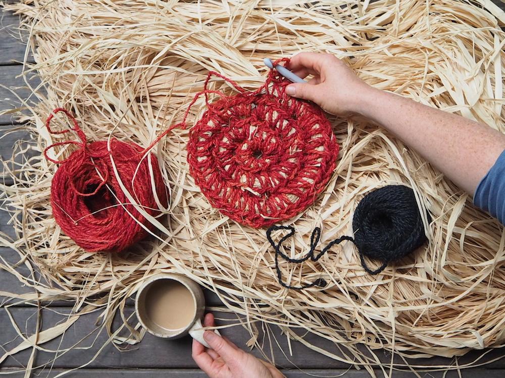 Ellie Beck Petalplum Crochet large bowl - parenting & artmaking & coffee.JPG