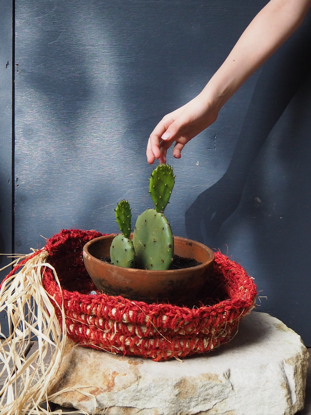 Ellie Beck Petalplum Crochet large bowl - parenting & artmaking.JPG