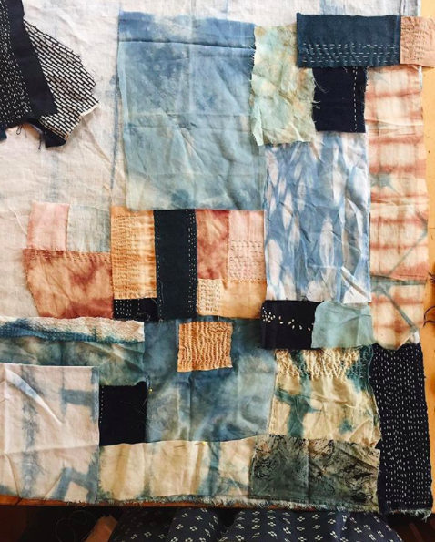 Ellie Beck Petalplum The Fearless Quilt
