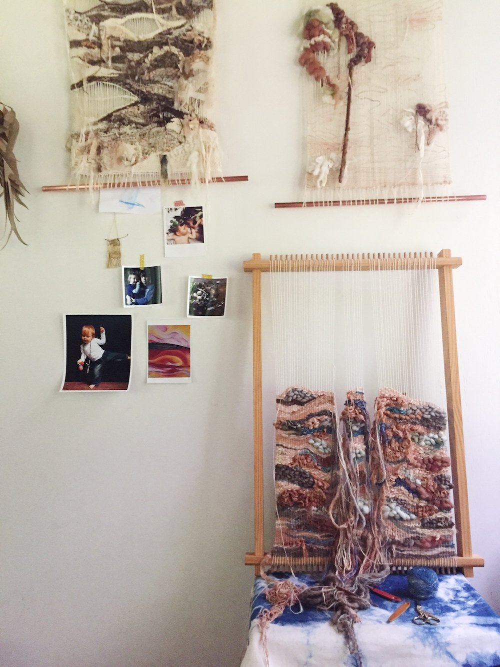 Ellie Beck Petalplum Loom Weavings My stories -  Seasons of our Creative Lives.JPG