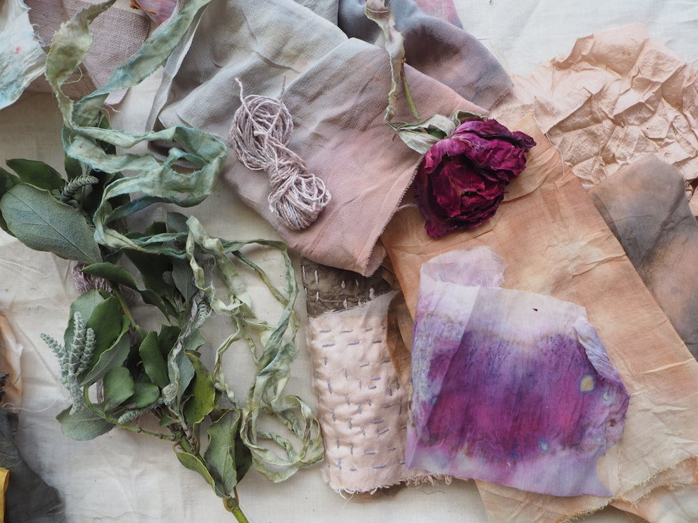 Ellie Beck Petalplum Naturally dyed fabrics - indigo, avocado seeds, red cabbage.jpeg