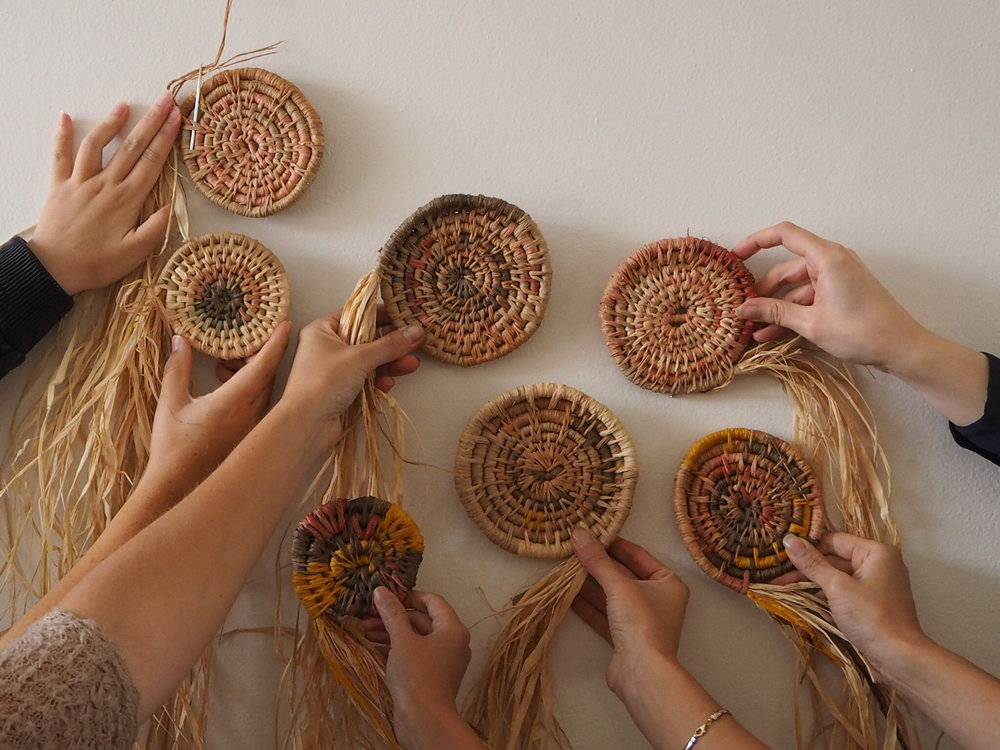 Ellie Beck raffia basket making process photosIMG_0825.JPG
