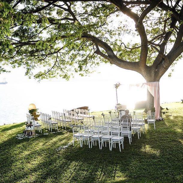 NIC + MONICA - Romantic Rustic Garden Solemnization + Chalkboard Backdrop Wedding