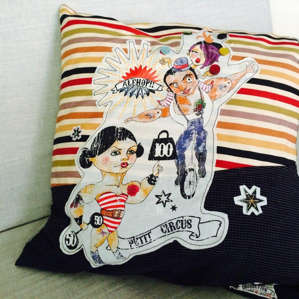 circus Cushion cover -